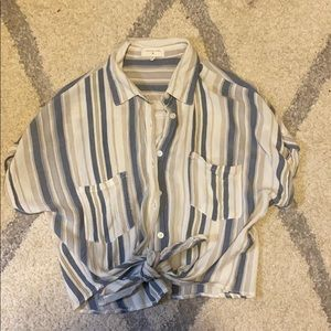 Thread and Supply Short Sleeved Button Up